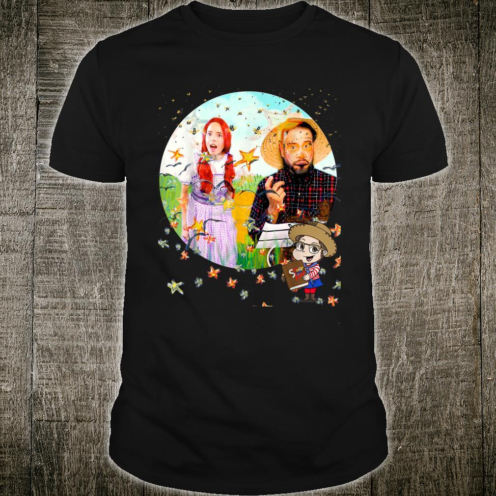 Dorothy & Scarecrow inspired by Wizard of OZ Shirt