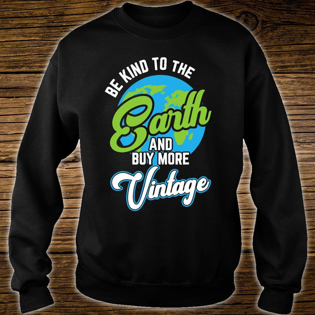 Earth Day 2021 Climate Change Global Warming Be Kind Shirt