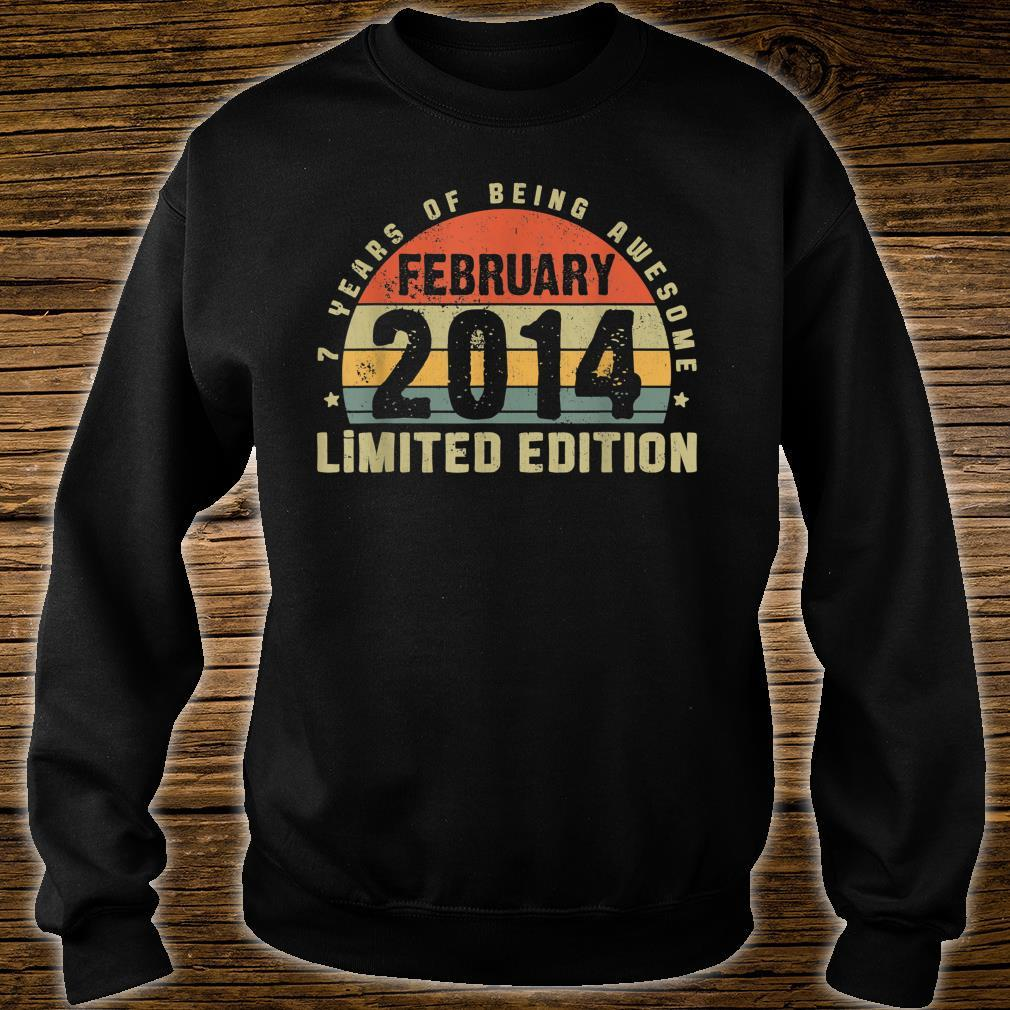 February 2014 Limited Edition Outfit Retro 7th Bday Shirt sweater