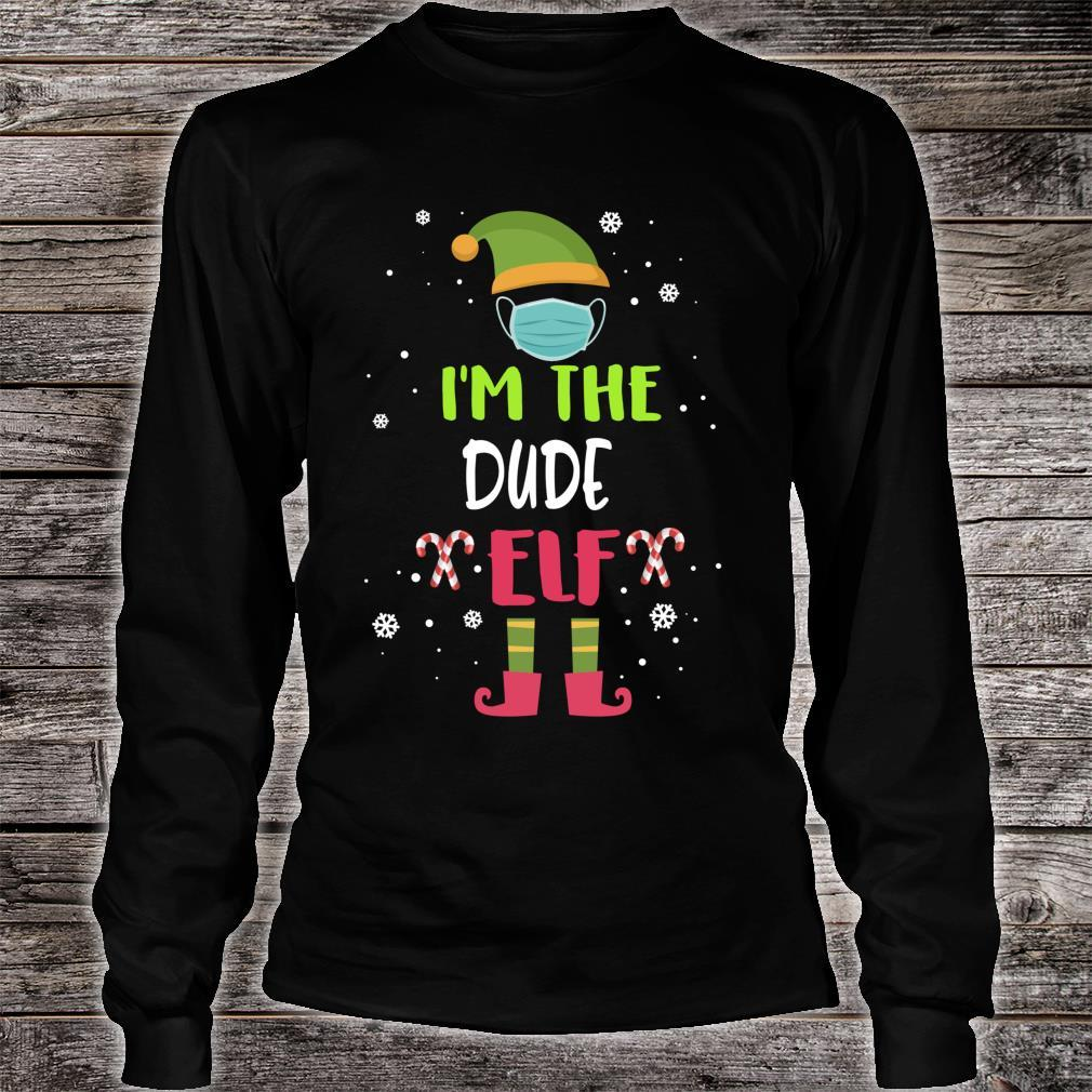 I'm The Dude Elf Family Group Matching Christmas Shirt long sleeved