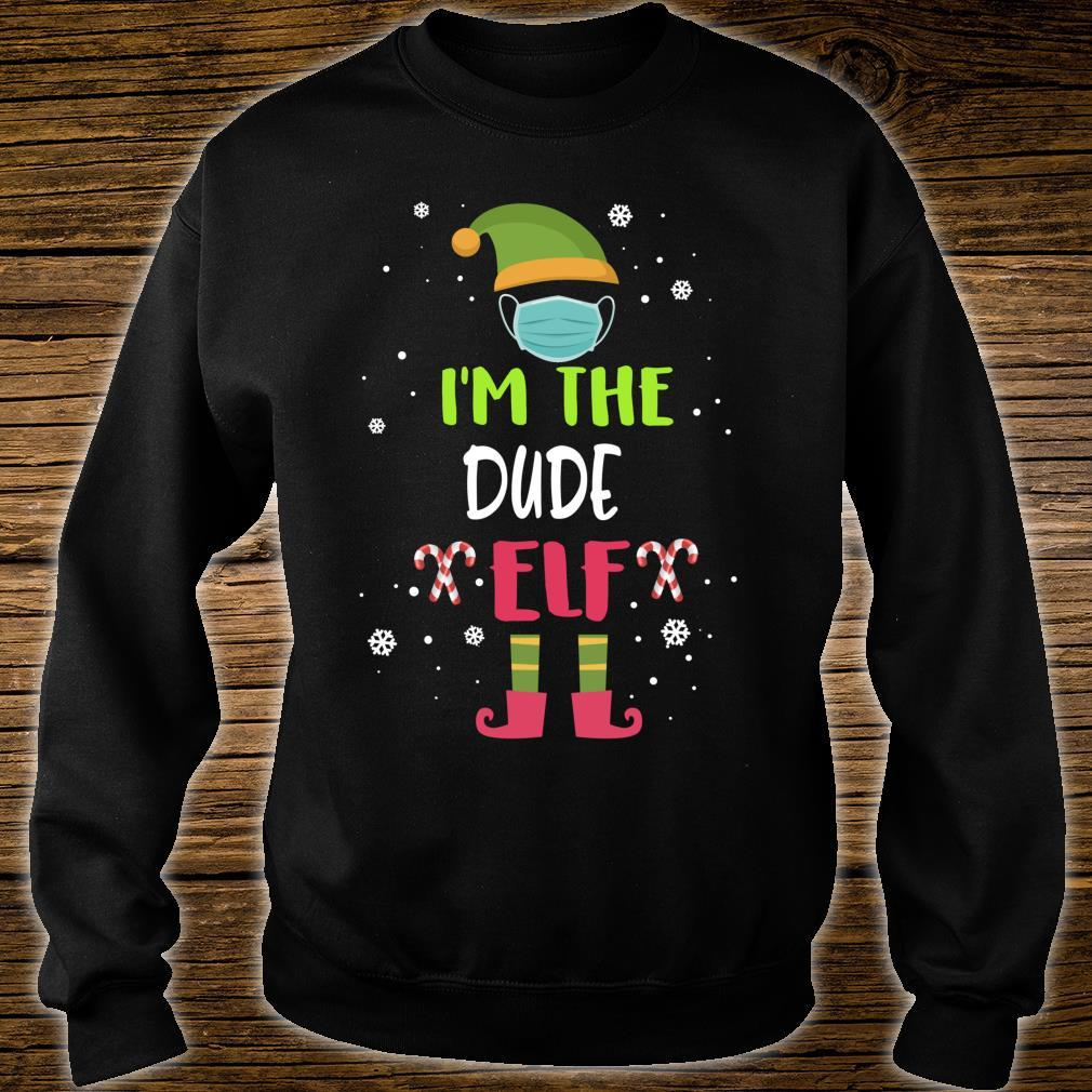 I'm The Dude Elf Family Group Matching Christmas Shirt sweater
