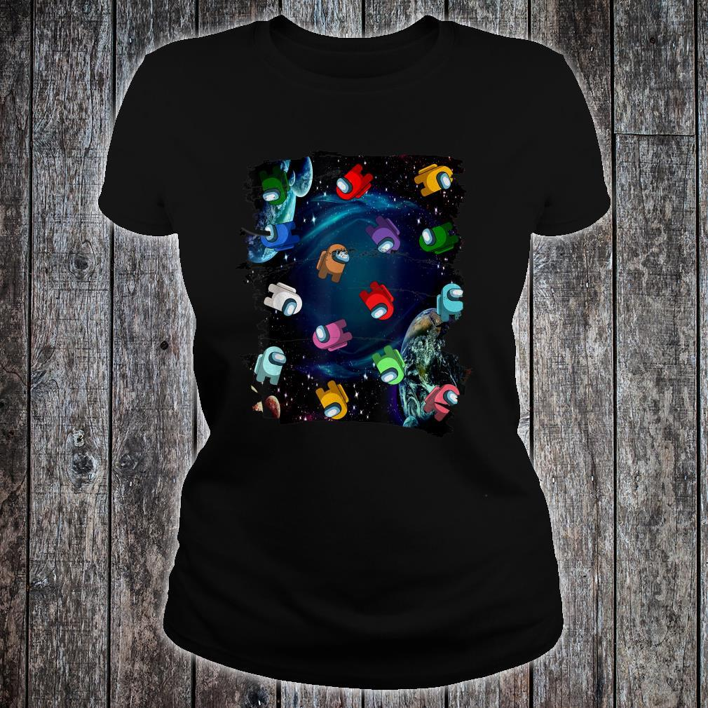 Imposter Among Game Us Sus Amazing Style  Shirt ladies tee