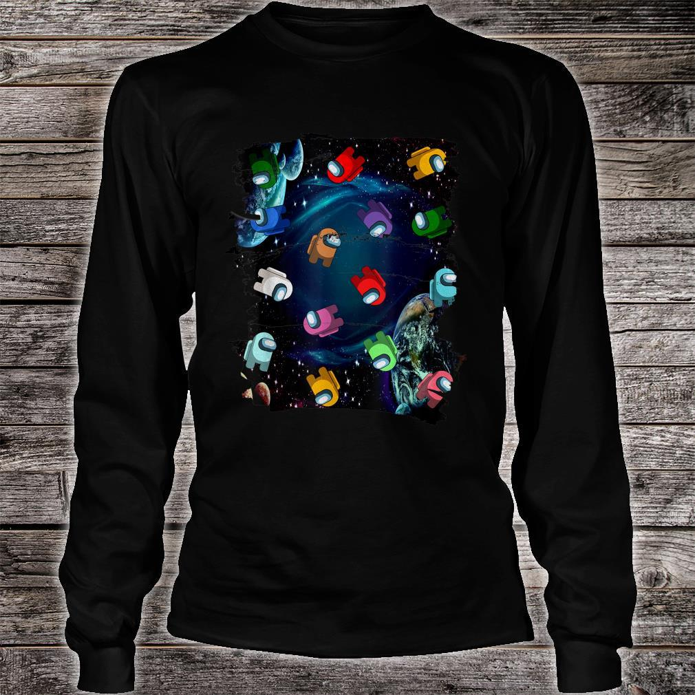 Imposter Among Game Us Sus Amazing Style  Shirt long sleeved