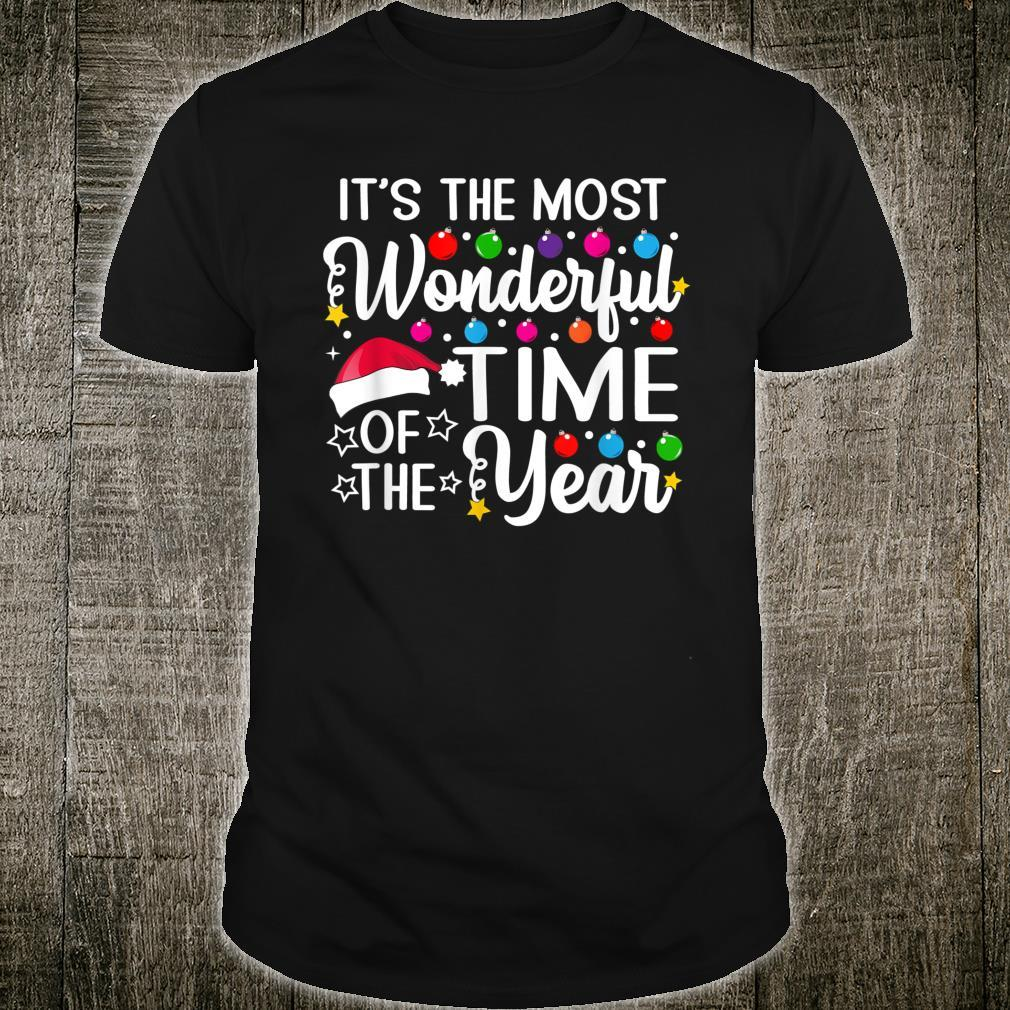 It's The Most Wonderful Time Of The Year Christmas Pj Shirt