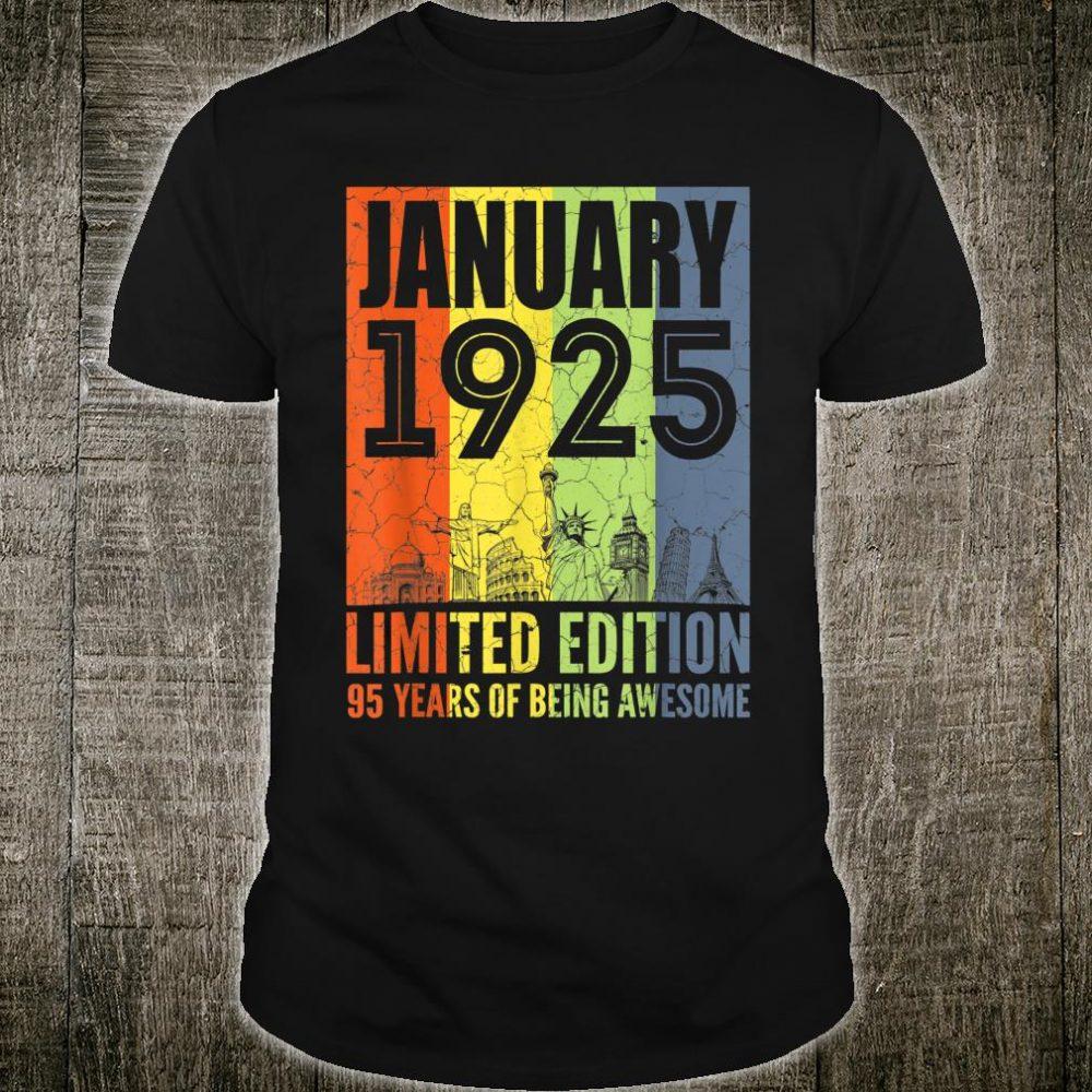 January 1925 Shirt