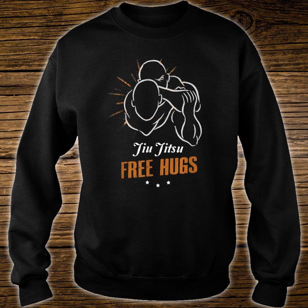 Jiu Jitsu Free Hugs, Mma, Brazilian Jutsu, BJJ Shirt sweater