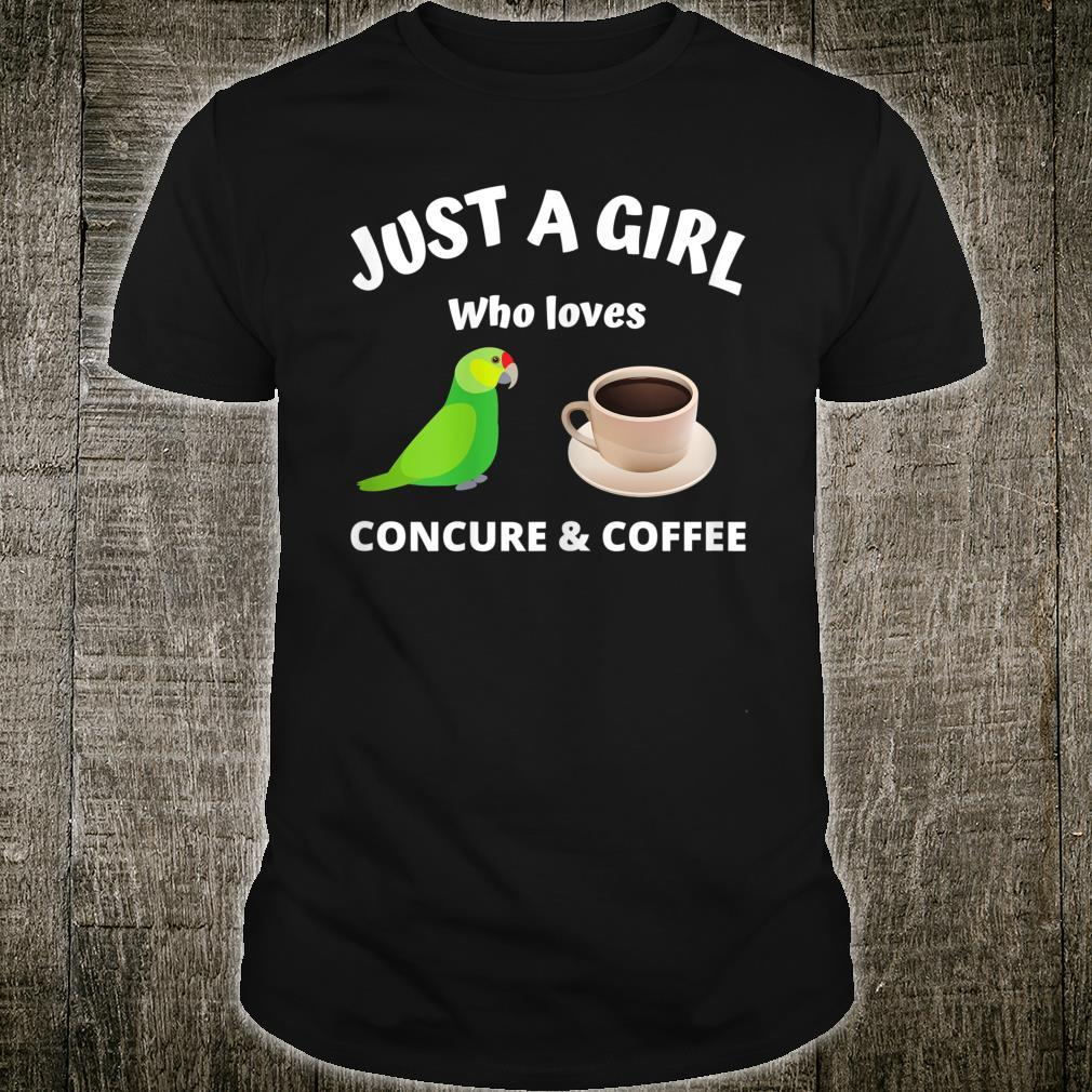 Just a girl who love concure & coffee for concure owner Shirt