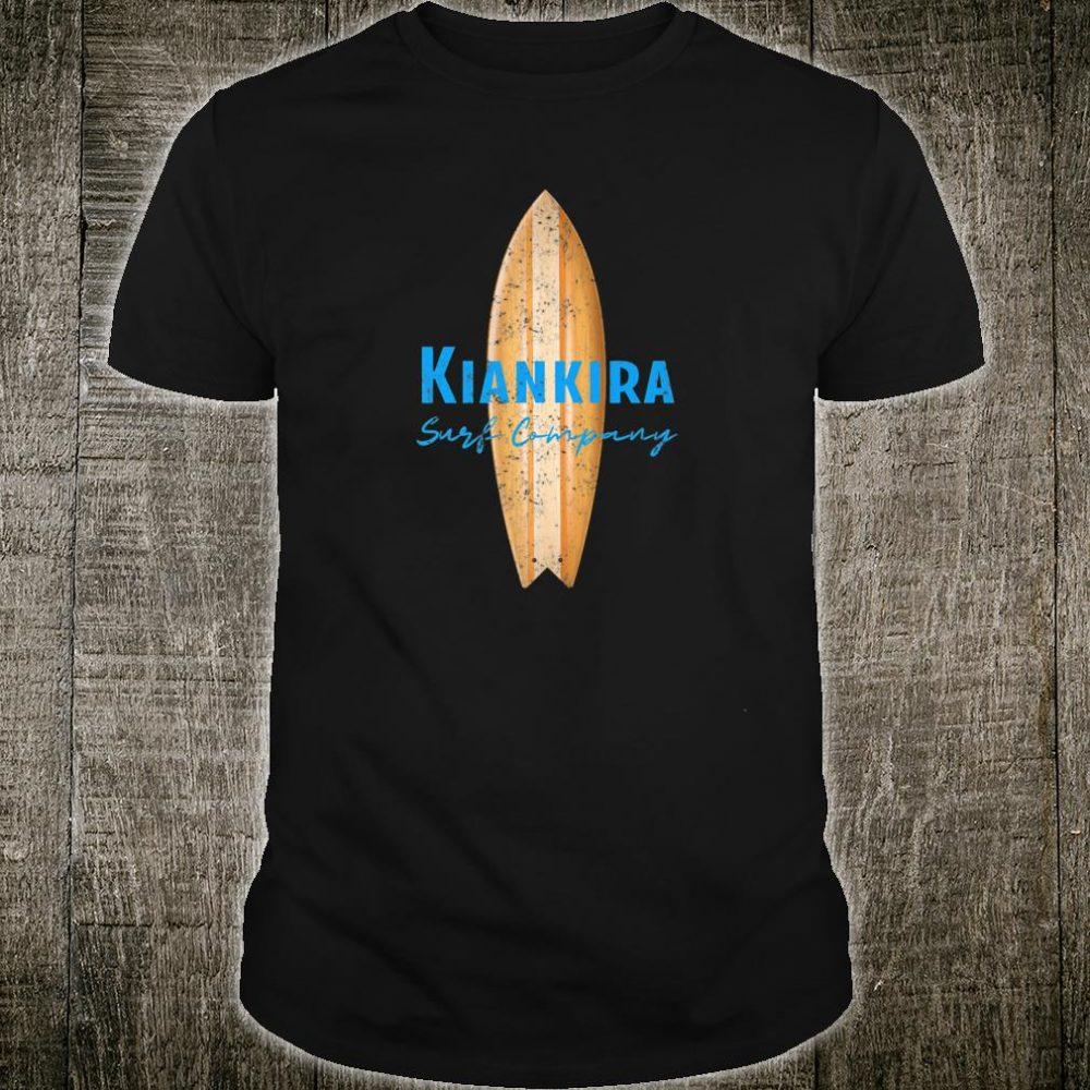Kiankira Wooden Surfboard by Ocean Shirt