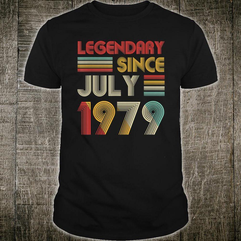 Legendary Since July 1979 Shirt