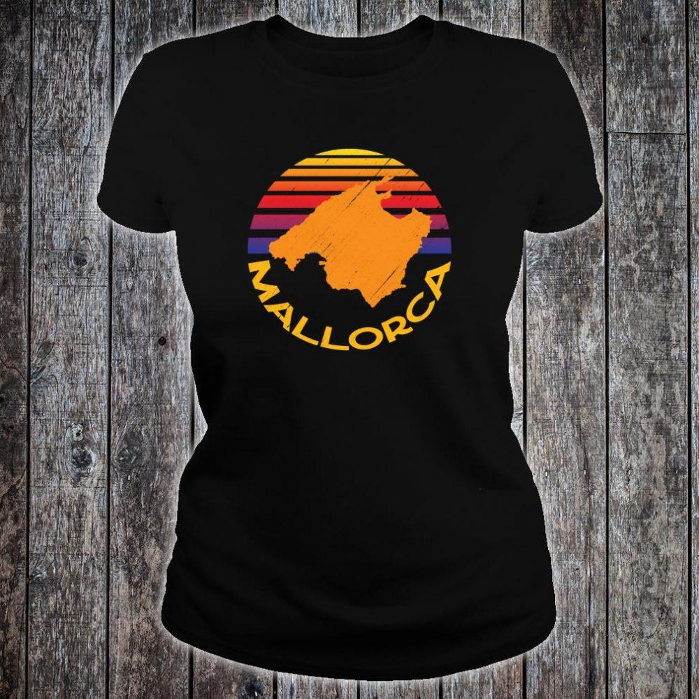 Mallorca Spain Souvenir Shirt ladies tee