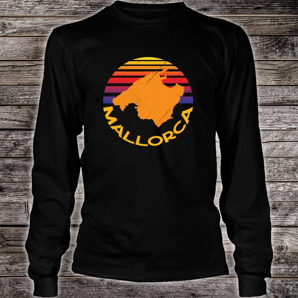 Mallorca Spain Souvenir Shirt long sleeved