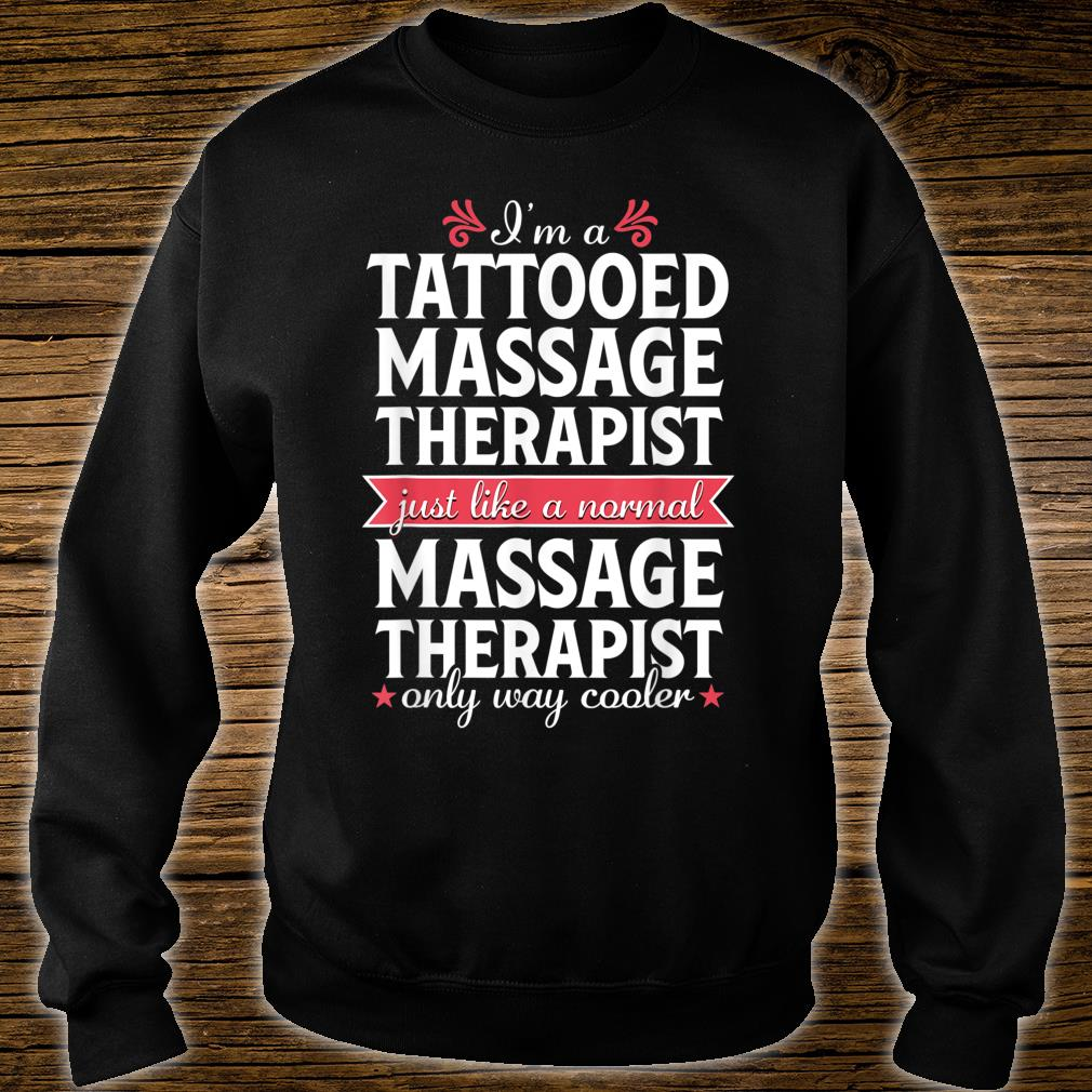 Official Massage Therapist Gift for Women Tattoo Physical ...