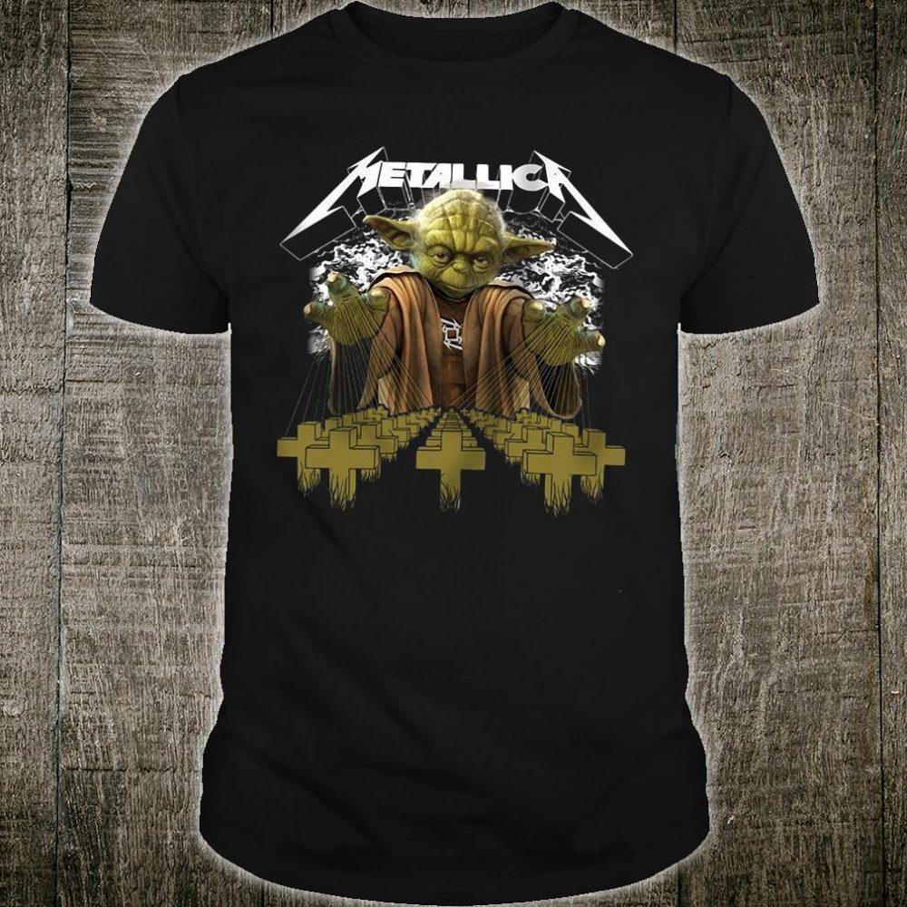 Metallica Yoda Star Wars shirt