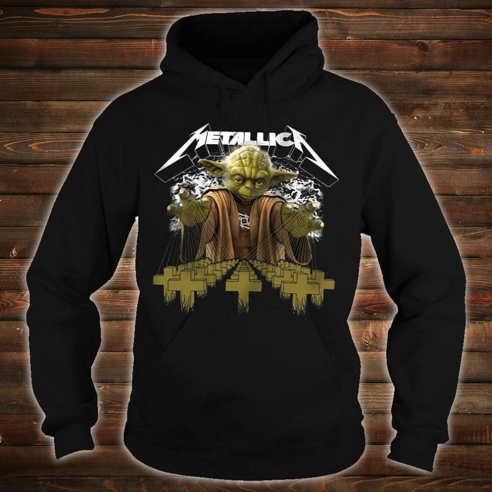 Metallica Yoda Star Wars shirt hoodie