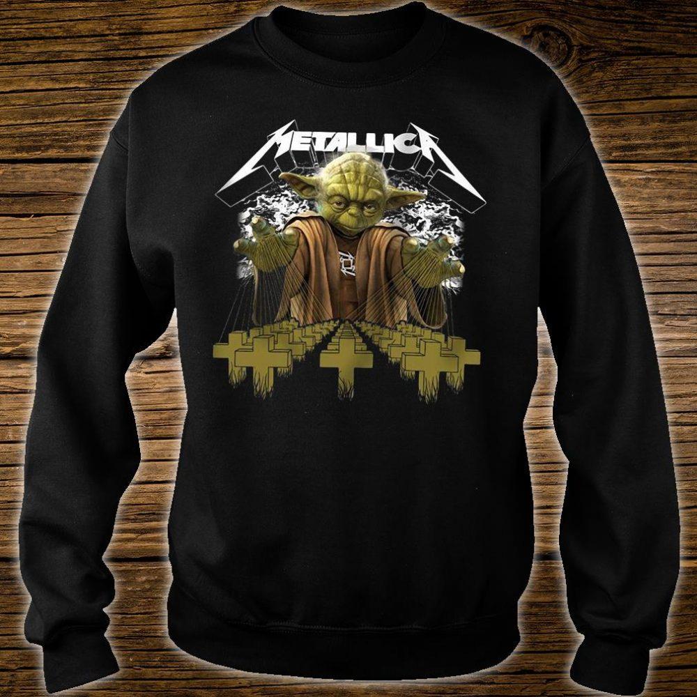 Metallica Yoda Star Wars shirt sweater