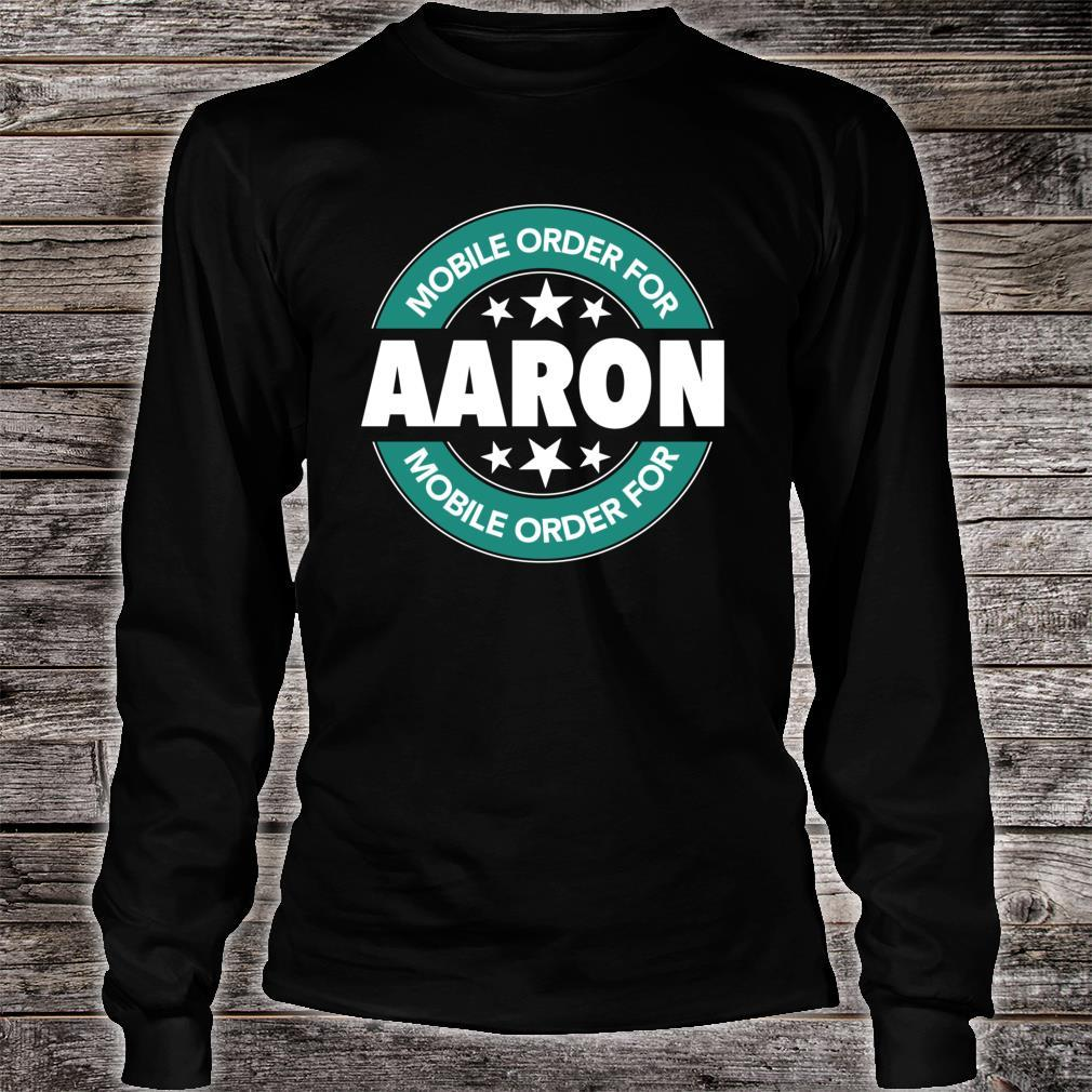 Mobile Order for AARON Shirt long sleeved