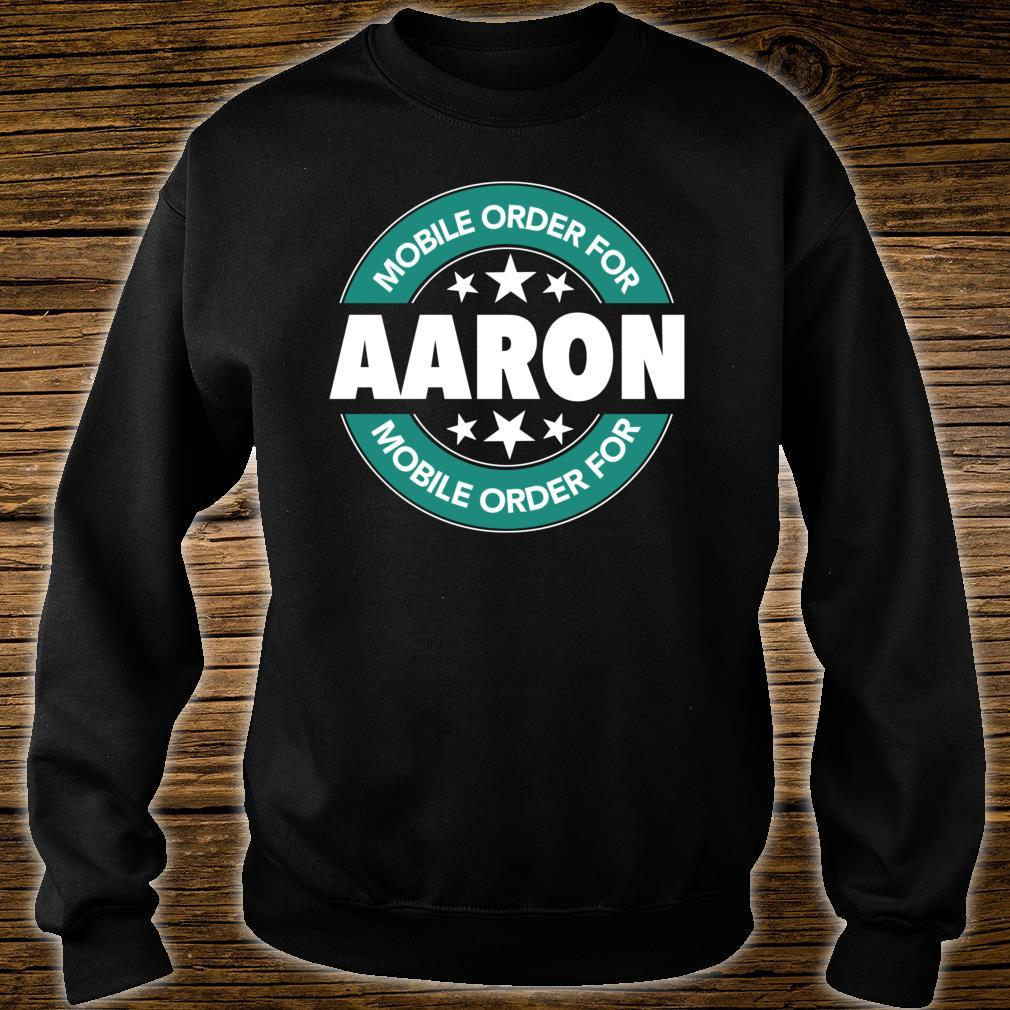 Mobile Order for AARON Shirt sweater