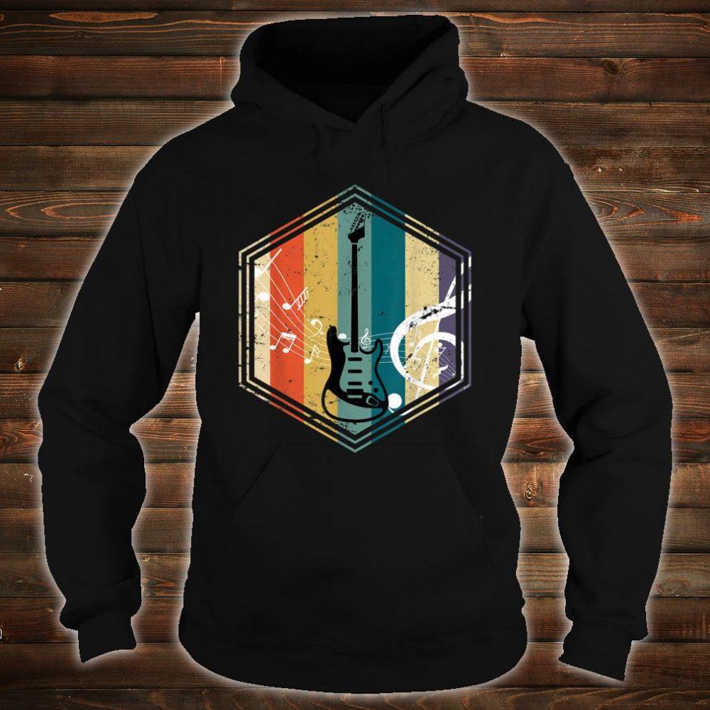 Musical Instrument Retro Bass Guitar Shirt hoodie