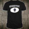 NEWBURYPORT MA MASSACHUSETTS Flag Shirt