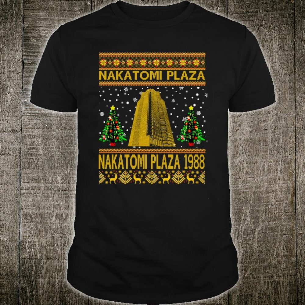 Nakatomi-Plaza 1988 Christmas Shirt