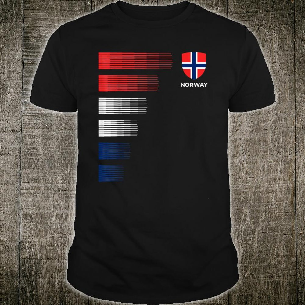 Norway Soccer Jersey Shirt