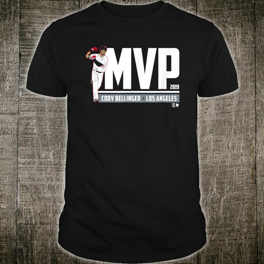 Officially Licensed Cody Bellinger MVP Shirt