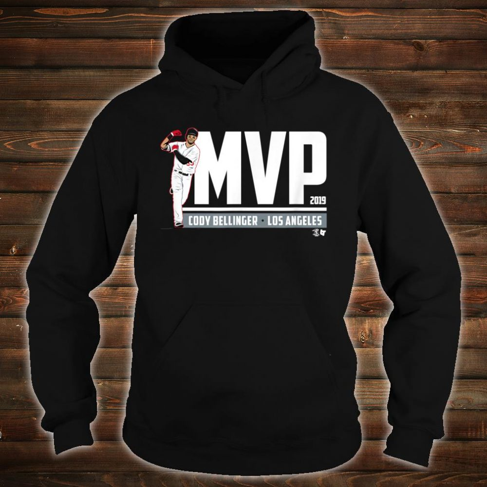 Officially Licensed Cody Bellinger MVP Shirt hoodie