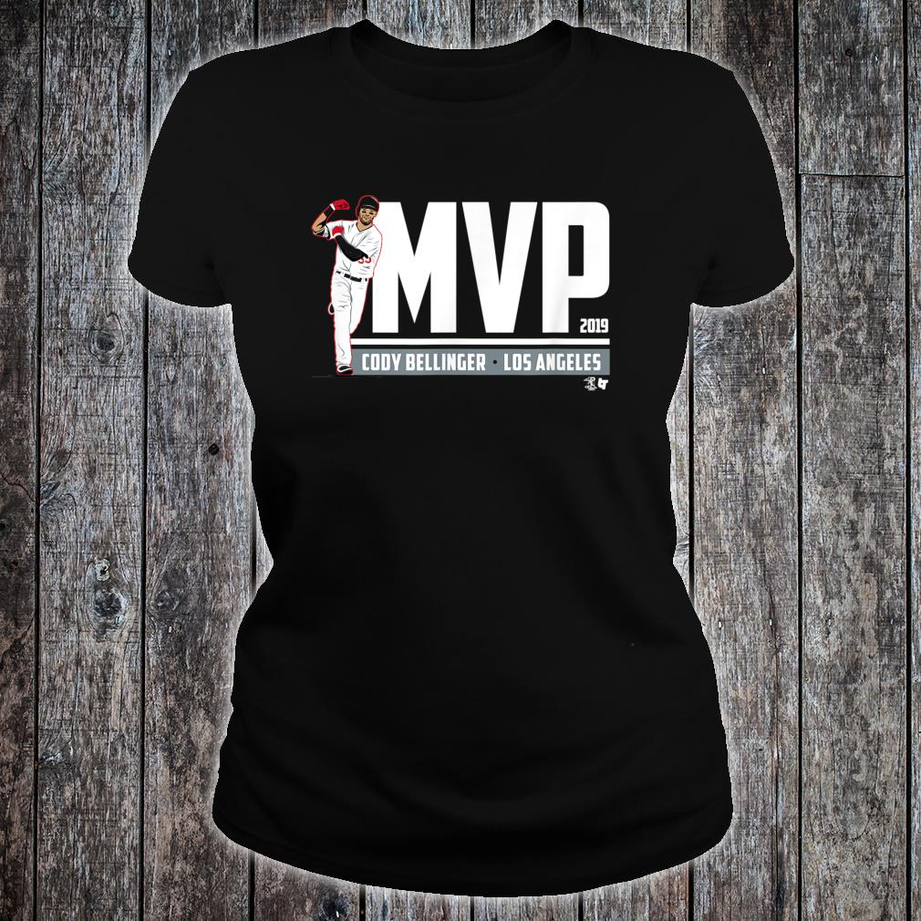 Officially Licensed Cody Bellinger MVP Shirt ladies tee