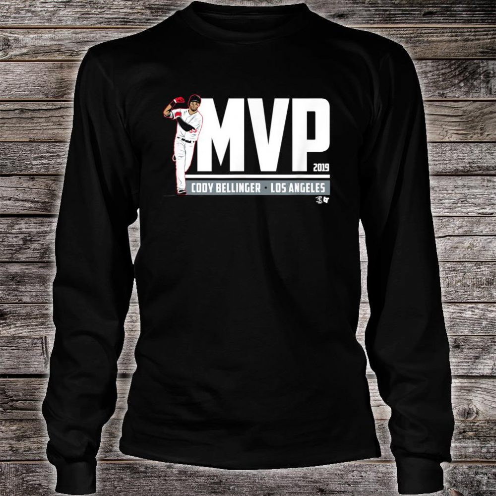 Officially Licensed Cody Bellinger MVP Shirt long sleeved