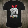 Oh Deer Funny Kuvasz Xmas Shirt