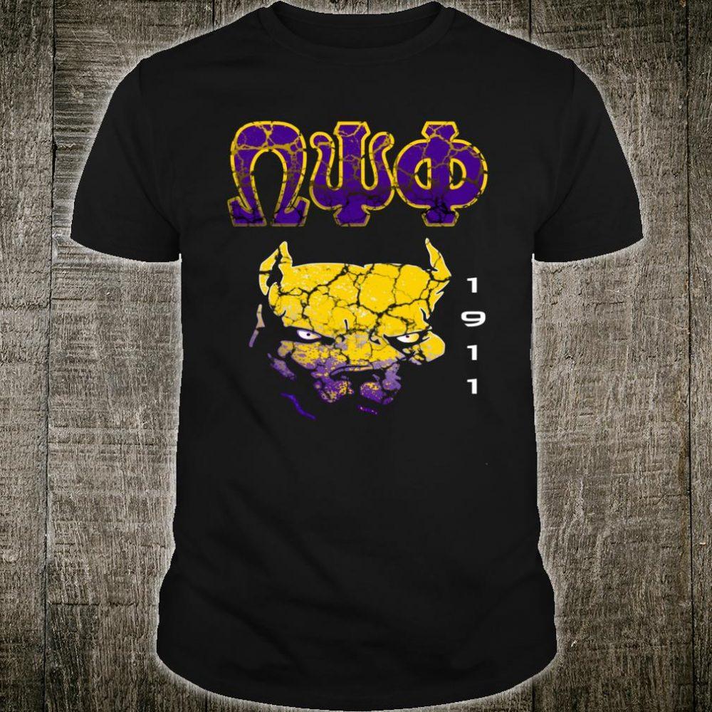 Omega Paraphernalia Psi Phi Que Fraternity Shirt