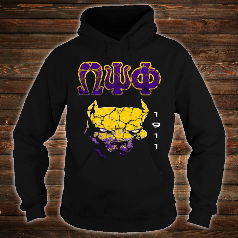 Omega Paraphernalia Psi Phi Que Fraternity Shirt hoodie