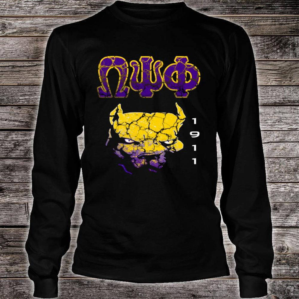 Omega Paraphernalia Psi Phi Que Fraternity Shirt long sleeved