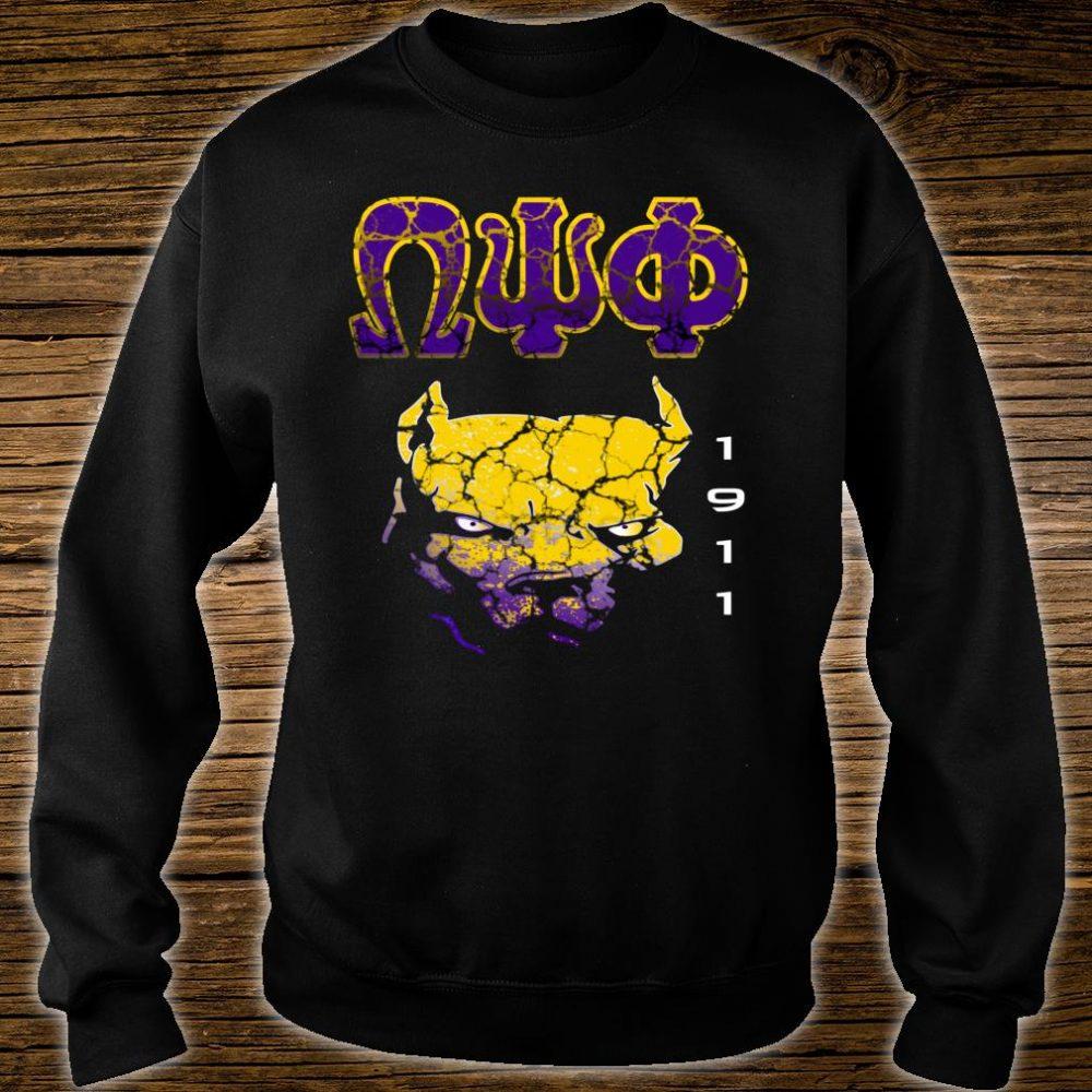 Omega Paraphernalia Psi Phi Que Fraternity Shirt sweater