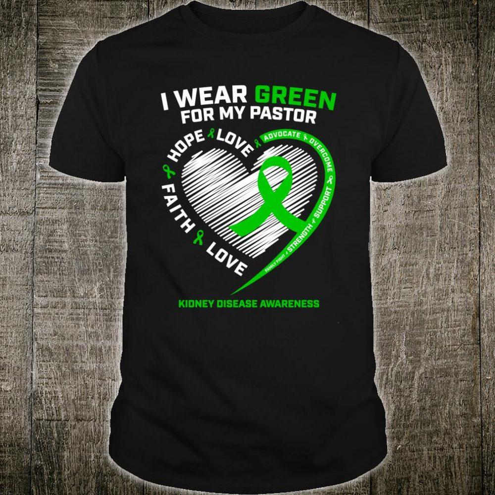 Pastor Kidney Disease Shirts