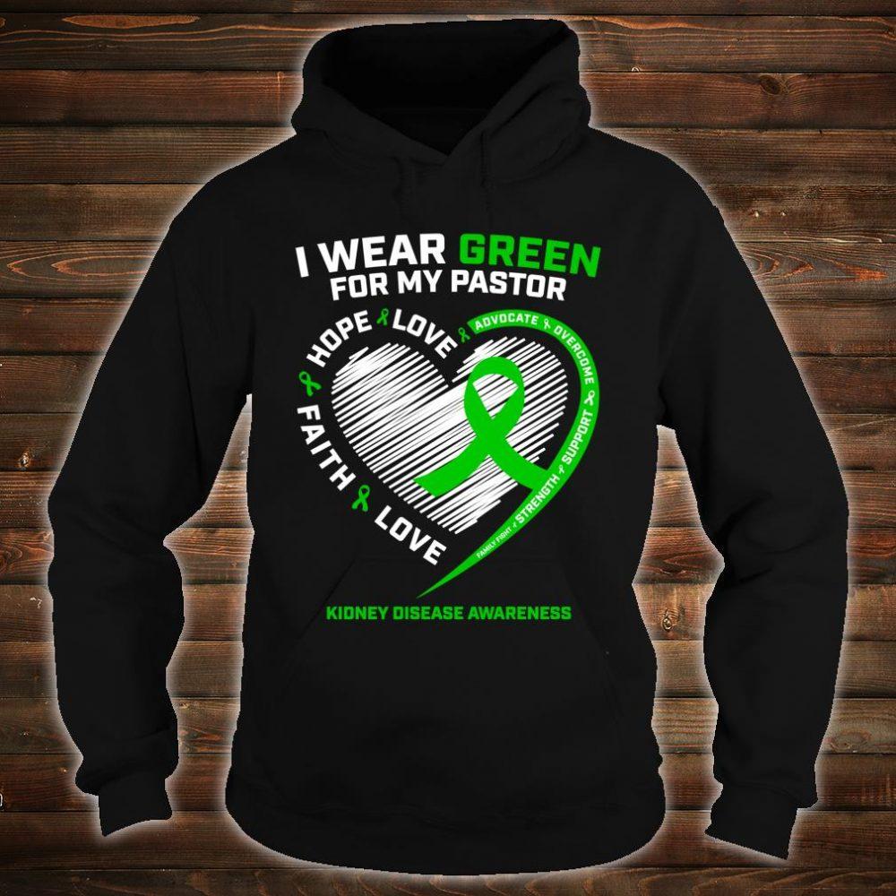 Pastor Kidney Disease Shirts hoodie