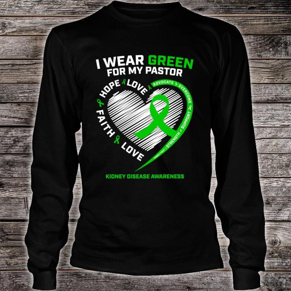 Pastor Kidney Disease Shirts long sleeved