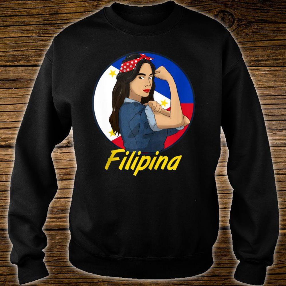 Philippines Pinay Filipina Pride Strong Proud I Shirt sweater
