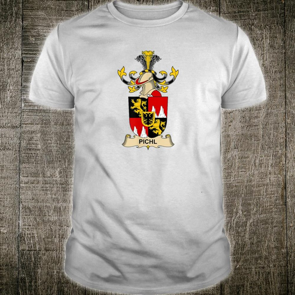 Pichl Coat of Arms - Family Crest Shirt