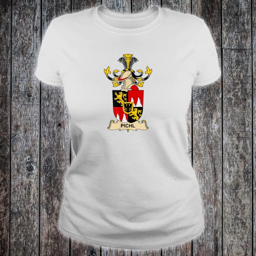 Pichl Coat of Arms - Family Crest Shirt ladies tee