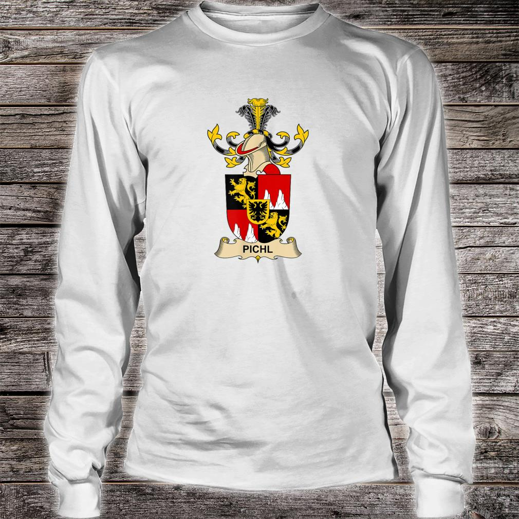 Pichl Coat of Arms - Family Crest Shirt long sleeved