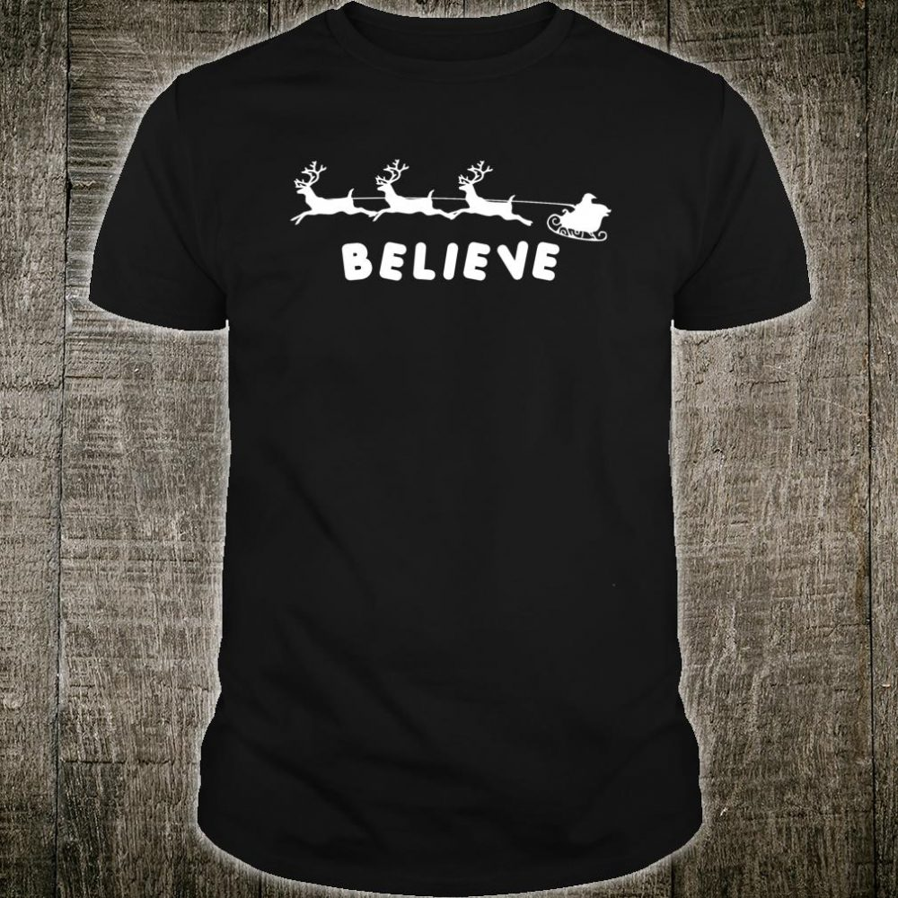 Polar express believe pajamas Shirt
