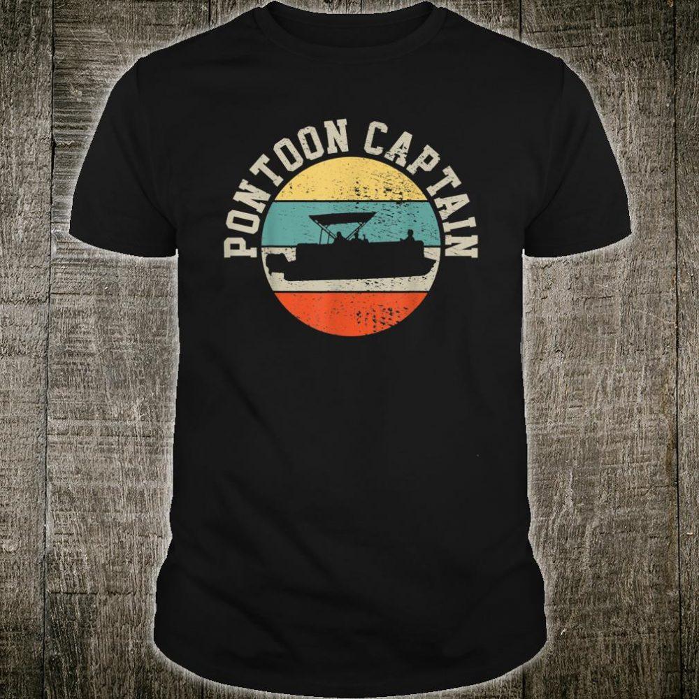 Pontoon Captain Boating Shirt