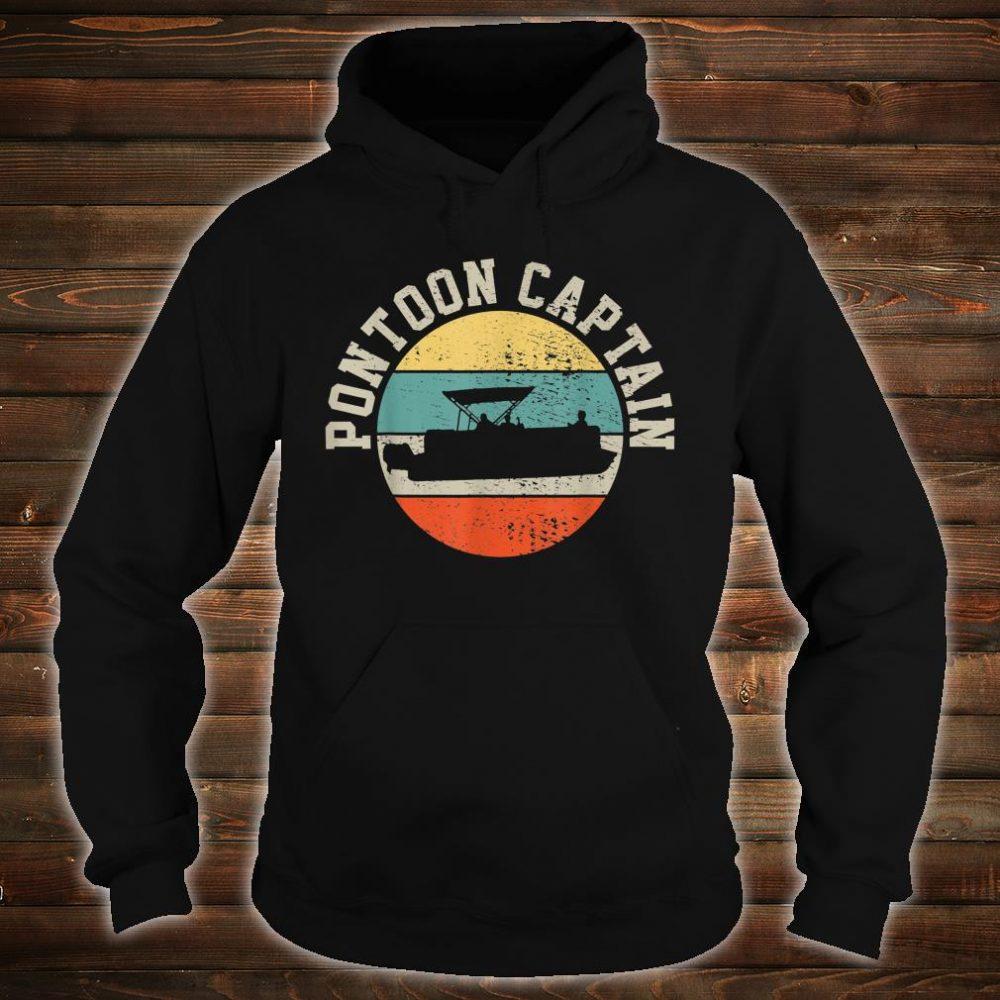 Pontoon Captain Boating Shirt hoodie