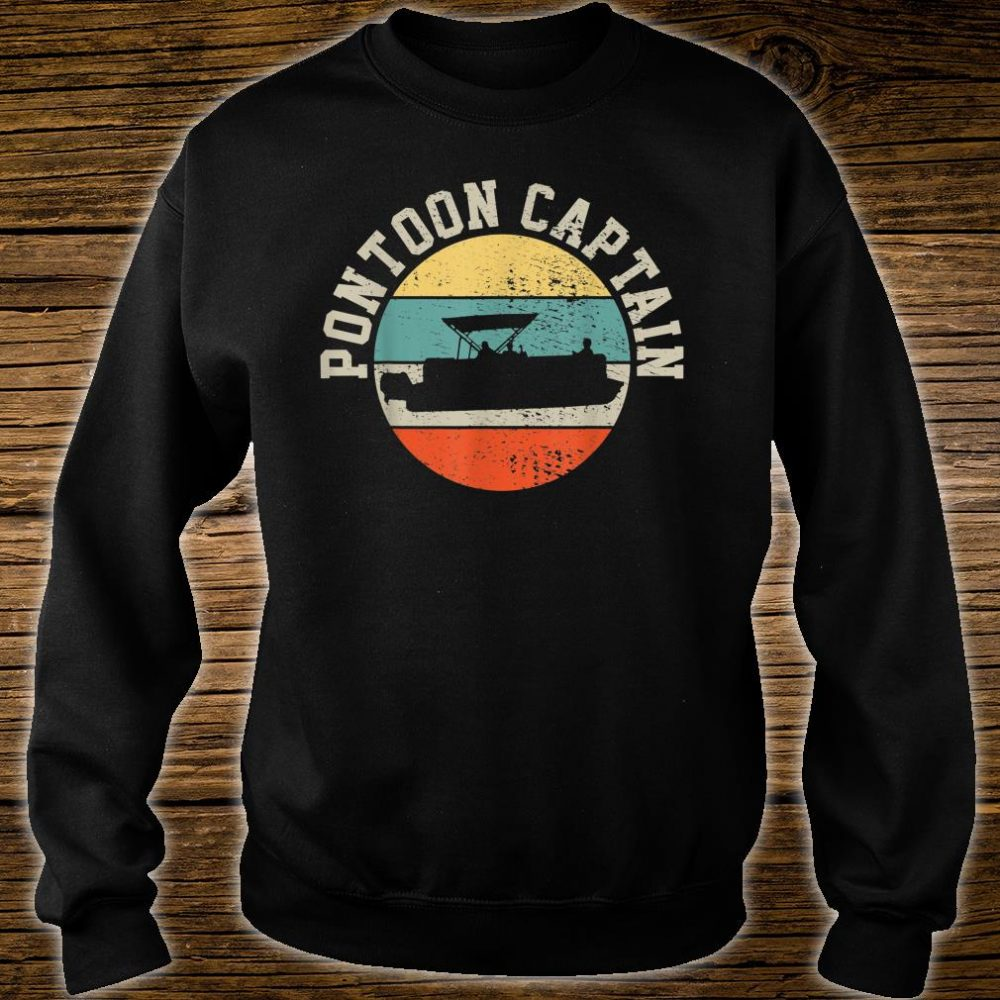 Pontoon Captain Boating Shirt sweater