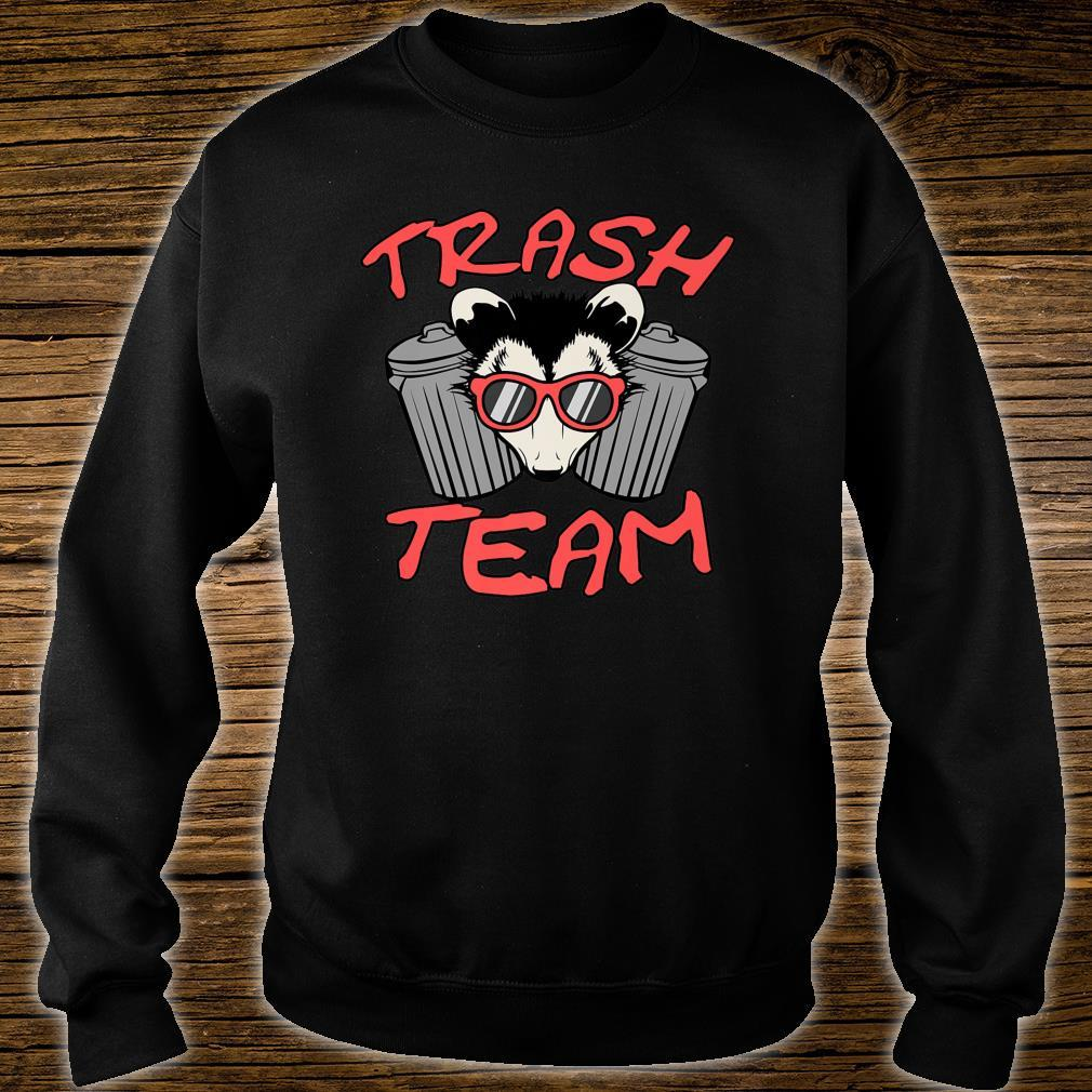 Possum Team Trash Live Ugly Face Your Death Opossum Shirt sweater