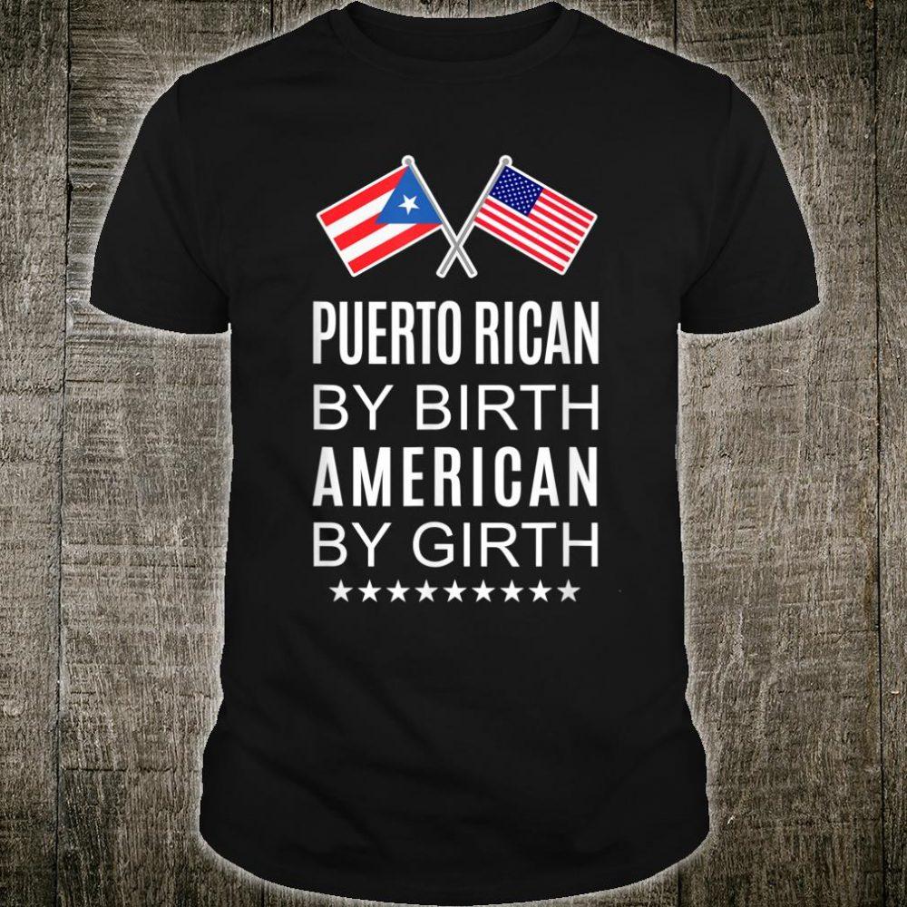 Puerto Rican American Pride Shirt