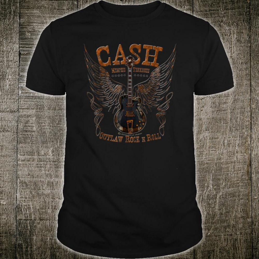 Retro Cash Memphis outlaw Shirt