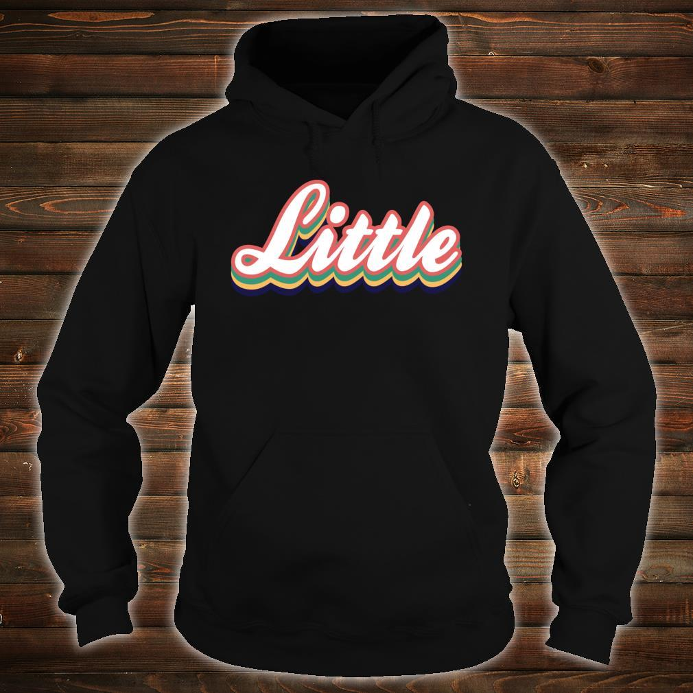 Retro Little Reveal Sorority. Big Little Week. Greek life Shirt hoodie