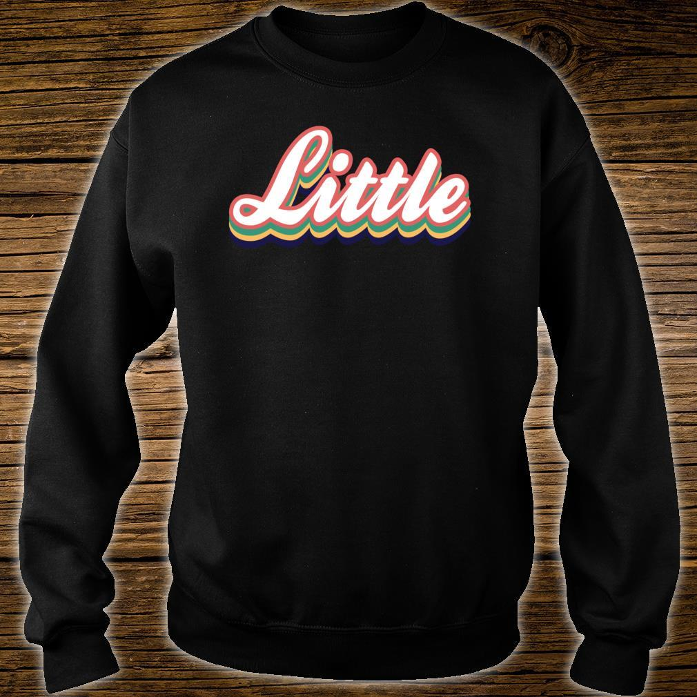 Retro Little Reveal Sorority. Big Little Week. Greek life Shirt sweater